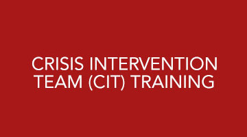 Mental health services crisis intervention team (CIT) training