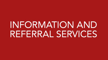Mental Health Services information and referral services
